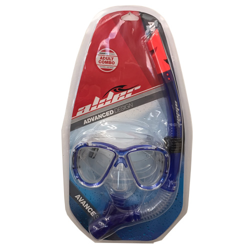 Alder Adult Advance Design Snorkel And Mask