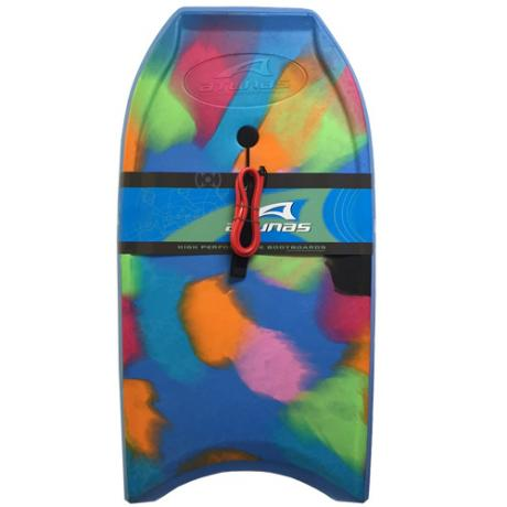 Multicoloured Atunas Bodyboard