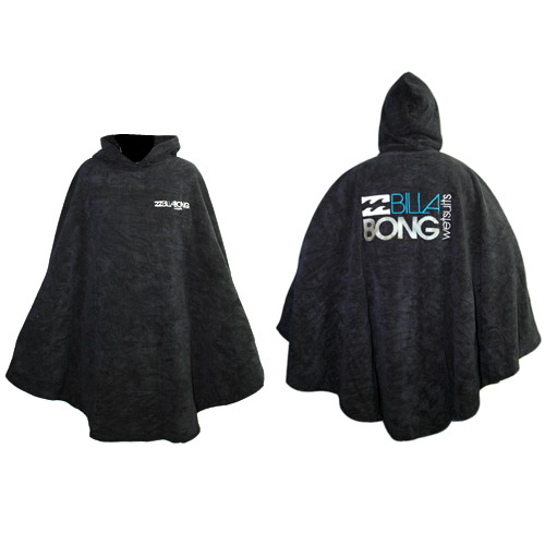 Billabong Poncho beach Toweling Robe big
