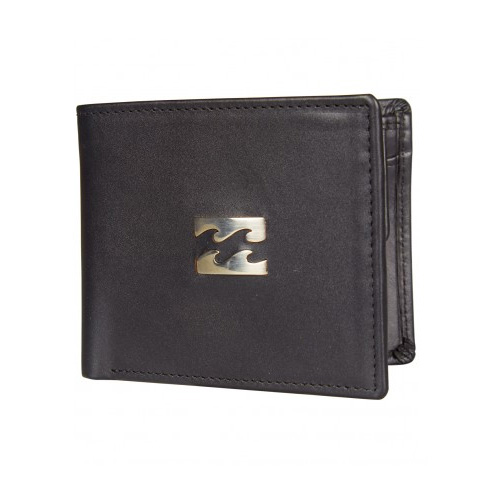 Billabong Icon Snap Wallet - Black