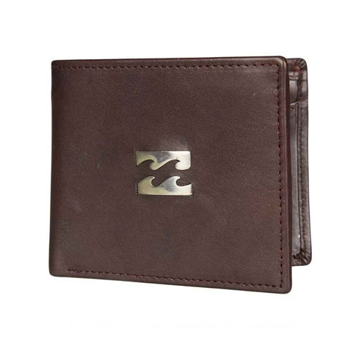 Billabong Icon Snap Wallet - Chocolate