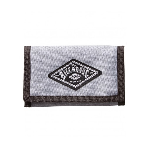 Billabong Re-Issue Wallet - Grey Heather