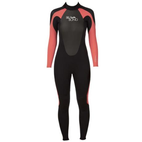 Billabong launch ladies wetsuit - Black/Cherry