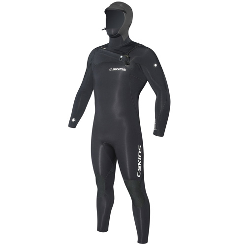 C-skins ReWired 5-4mm Chest Zip Wetsuit Front