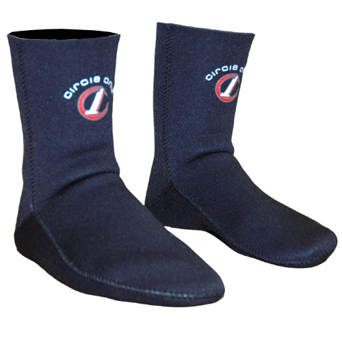 Circle One 3mm neoprene Bodyboarding Socks