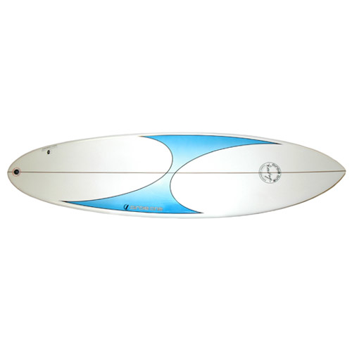 Heritage 6ft 6'' Custom Thruster Funboard