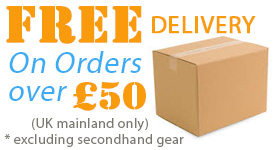 Free delivery on orders of £50 and over