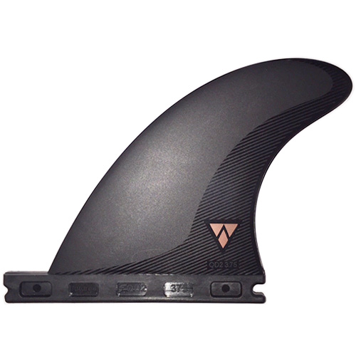 Futures Quad Rear Alpha Fins - Carbon Red