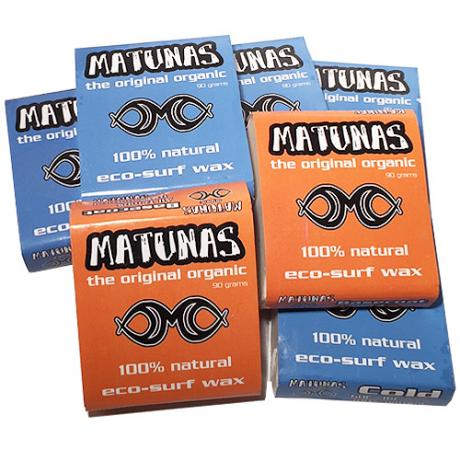 Matunas Surfboard Wax Mixed Pack