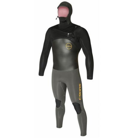 Mens C Skins Chest Zip Hooded Wetsuit
