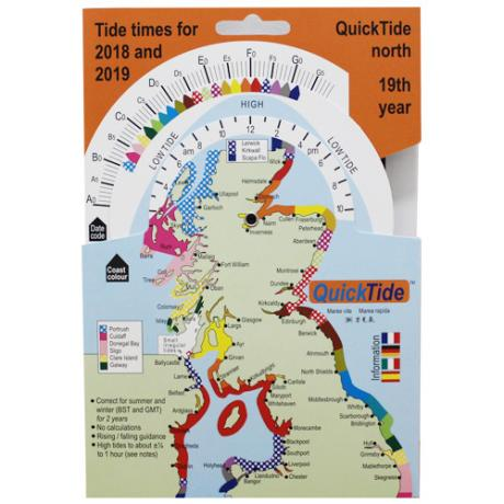 Tide Times 2018 and 2019 Scotland and North of England