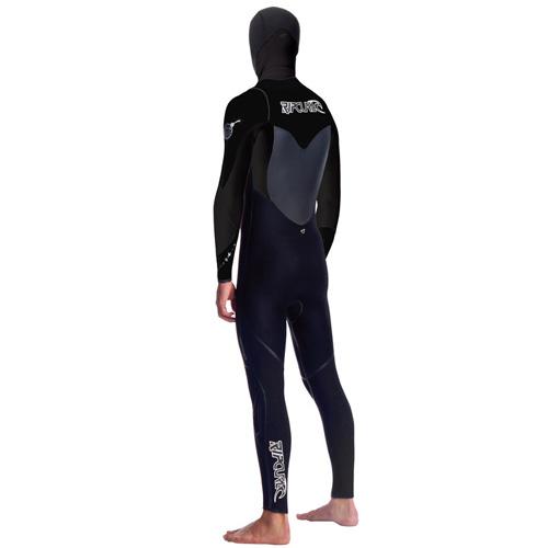 Rip Curl Mens 5.5-4mm Flash Bomb Hooded Winter Wetsuit