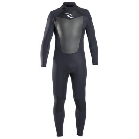 Rip Curl Mens Wetsuit 5-3mm Omega - Black
