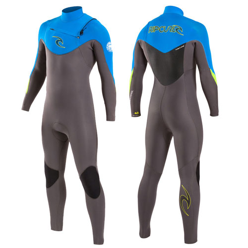 Rip Curl Mens Wetsuit 5-3mm Chest Zip Dawn Patrol