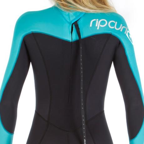 womens rip curl omega 5-3mm wetsuit - Shoulders