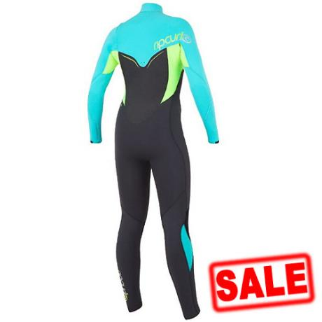 Rip Curl Womens Wetsuit 4-3mm Flash Bomb 2016 Back