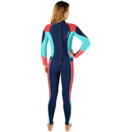 Rip Curl Womens Wetsuit 5-3mm Dawn Patrol - Back