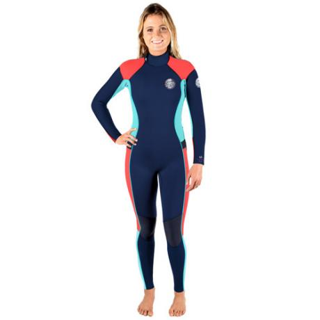 Rip Curl Womens Wetsuit 5-3mm Dawn Patrol - Navy