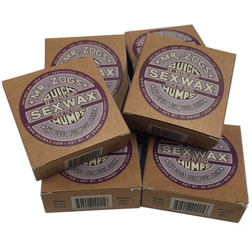 Mr Zogs Sex Wax Quick Humps 2 X Surfboard Wax