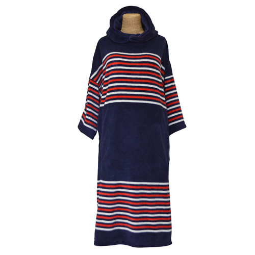 Tools Navy Stripes Kids Hooded Towel
