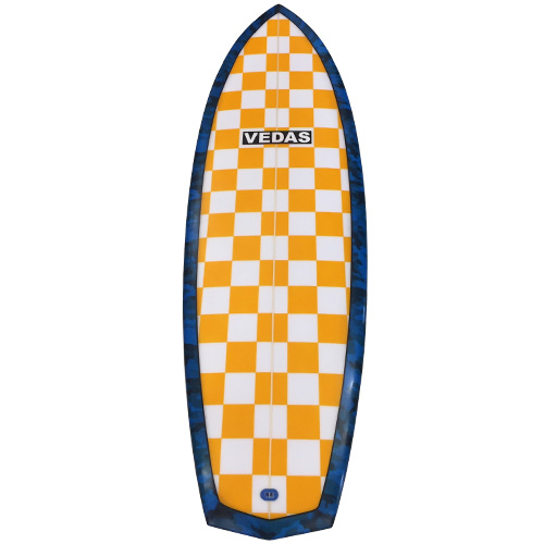 Vedas 5ft 6in Diamond Fish Surfboard