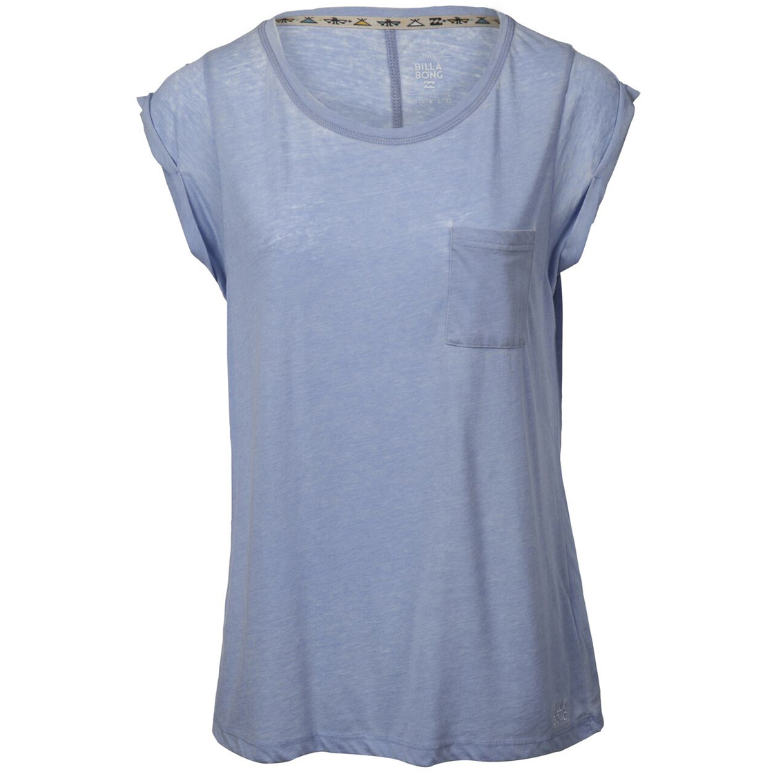 Womens billabong blue essentials tshirt