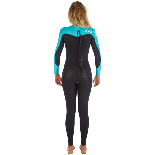 womens rip curl omega 5-3mm wetsuit - Back