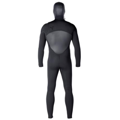 Xcel Mens Wetsuit 5-4mm Infiniti Hooded Back