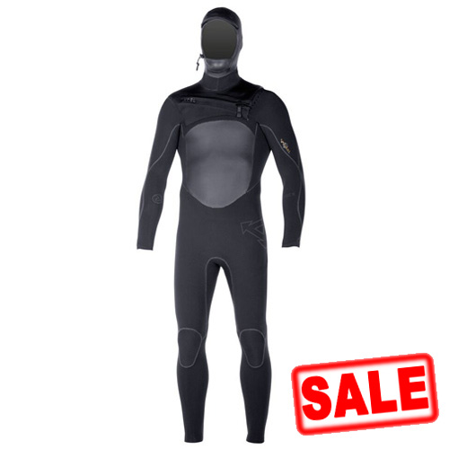 Xcel Mens 5/4mm Drylock Hooded Wetsuit