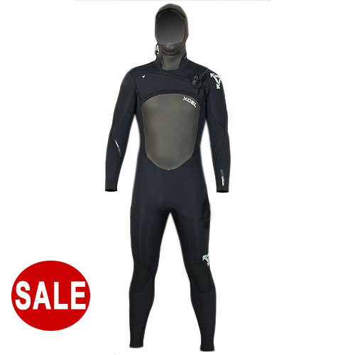 Xcel Infiniti 6mm Hooded Mens Wetsuit